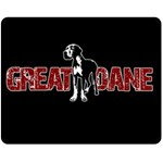 Great Dane Fleece Blanket (Medium)