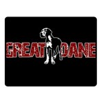 Great Dane Fleece Blanket (Small)