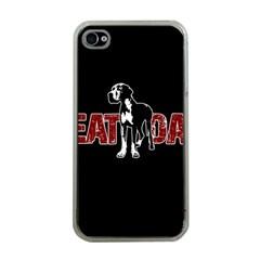 Great Dane Apple iPhone 4 Case (Clear)