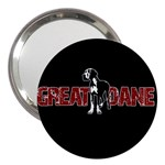 Great Dane 3  Handbag Mirrors
