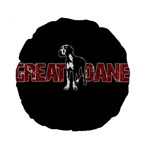 Great Dane Standard 15  Premium Round Cushions