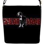 Great Dane Flap Messenger Bag (S)