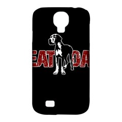 Great Dane Samsung Galaxy S4 Classic Hardshell Case (PC+Silicone)