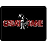 Great Dane Double Sided Fleece Blanket (Large)