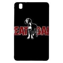 Great Dane Samsung Galaxy Tab Pro 8 4 Hardshell Case by Valentinaart