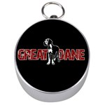 Great Dane Silver Compasses
