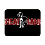 Great Dane Double Sided Flano Blanket (Mini)