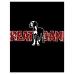 Great Dane Drawstring Bag (Large)