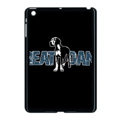 Great Dane Apple Ipad Mini Case (black) by Valentinaart
