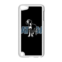 Great Dane Apple Ipod Touch 5 Case (white) by Valentinaart