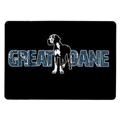 Great Dane Samsung Galaxy Tab 10 1  P7500 Flip Case by Valentinaart