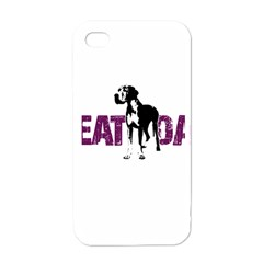 Great Dane Apple Iphone 4 Case (white) by Valentinaart
