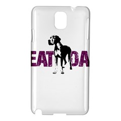 Great Dane Samsung Galaxy Note 3 N9005 Hardshell Case by Valentinaart