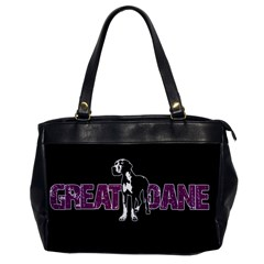 Great Dane Office Handbags by Valentinaart