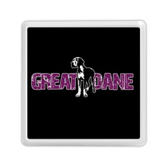 Great Dane Memory Card Reader (square)  by Valentinaart