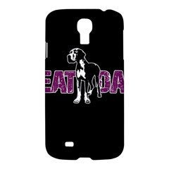 Great Dane Samsung Galaxy S4 I9500/i9505 Hardshell Case by Valentinaart