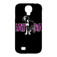 Great Dane Samsung Galaxy S4 Classic Hardshell Case (pc+silicone) by Valentinaart