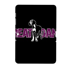 Great Dane Samsung Galaxy Tab 2 (10 1 ) P5100 Hardshell Case  by Valentinaart