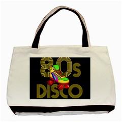 Roller Skater 80s Basic Tote Bag by Valentinaart