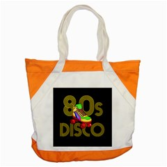 Roller Skater 80s Accent Tote Bag by Valentinaart
