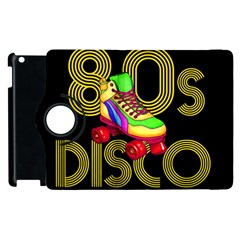 Roller Skater 80s Apple Ipad 3/4 Flip 360 Case by Valentinaart