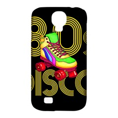 Roller Skater 80s Samsung Galaxy S4 Classic Hardshell Case (pc+silicone) by Valentinaart