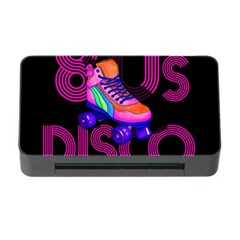 Roller Skater 80s Memory Card Reader With Cf by Valentinaart