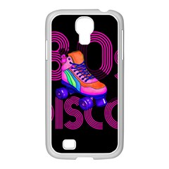 Roller Skater 80s Samsung Galaxy S4 I9500/ I9505 Case (white) by Valentinaart