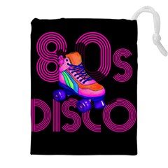 Roller Skater 80s Drawstring Pouches (xxl) by Valentinaart