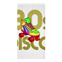 Roller Skater 80s Shower Curtain 36  X 72  (stall)  by Valentinaart