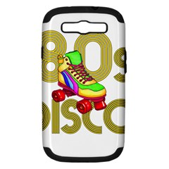 Roller Skater 80s Samsung Galaxy S Iii Hardshell Case (pc+silicone) by Valentinaart