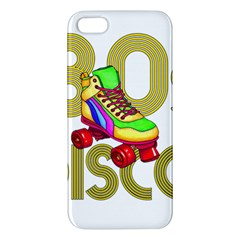 Roller Skater 80s Apple Iphone 5 Premium Hardshell Case by Valentinaart
