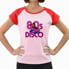 Roller Skater 80s Women s Cap Sleeve T Shirt by Valentinaart