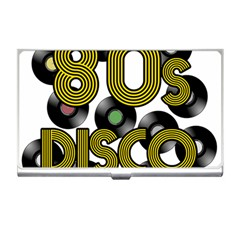 80s Disco Vinyl Records Business Card Holders by Valentinaart