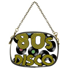 80s Disco Vinyl Records Chain Purses (two Sides)  by Valentinaart