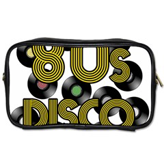 80s Disco Vinyl Records Toiletries Bags 2 Side by Valentinaart