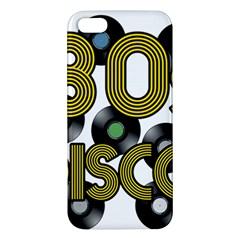 80s Disco Vinyl Records Iphone 5s/ Se Premium Hardshell Case by Valentinaart