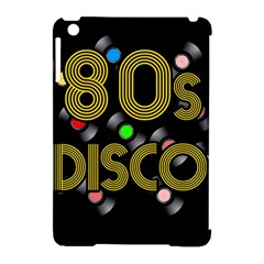 80s Disco Vinyl Records Apple Ipad Mini Hardshell Case (compatible With Smart Cover) by Valentinaart