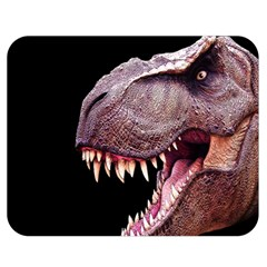 Dinosaurs T Rex Double Sided Flano Blanket (medium)