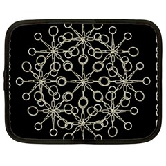 Ornate Chained Atrwork Netbook Case (large) by dflcprints