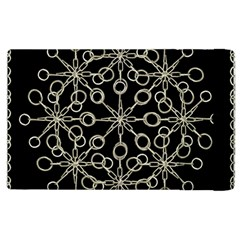 Ornate Chained Atrwork Apple Ipad 2 Flip Case by dflcprints