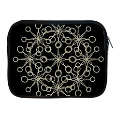 Ornate Chained Atrwork Apple Ipad 2/3/4 Zipper Cases by dflcprints