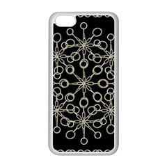 Ornate Chained Atrwork Apple Iphone 5c Seamless Case (white) by dflcprints