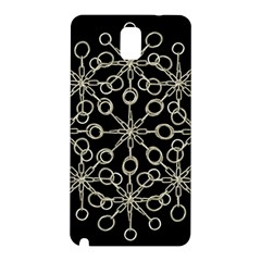 Ornate Chained Atrwork Samsung Galaxy Note 3 N9005 Hardshell Back Case by dflcprints