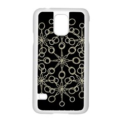 Ornate Chained Atrwork Samsung Galaxy S5 Case (white) by dflcprints