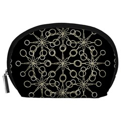 Ornate Chained Atrwork Accessory Pouches (large)  by dflcprints
