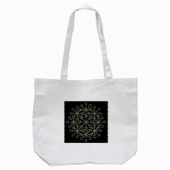 Ornate Chained Atrwork Tote Bag (white) by dflcprints