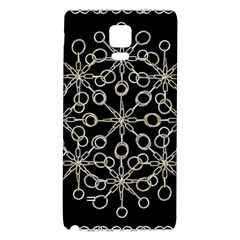 Ornate Chained Atrwork Galaxy Note 4 Back Case by dflcprints