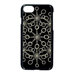 Ornate Chained Atrwork Apple Iphone 7 Seamless Case (black) by dflcprints