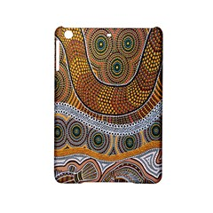 Aboriginal Traditional Pattern Ipad Mini 2 Hardshell Cases by Onesevenart